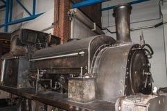 Utställningar i det nationella järnväg museet i York, Yorkshire England Royaltyfria Foton