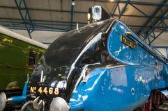 Utställningar i det nationella järnväg museet i York, Yorkshire England Royaltyfri Foto