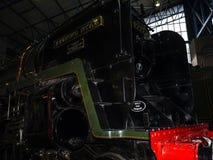 Utställningar i det nationella järnväg museet i York, Yorkshire England Royaltyfri Bild