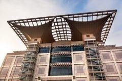 UtställningHalls Peoples för stads- planläggning fyrkantiga Shanghai Kina Royaltyfri Bild