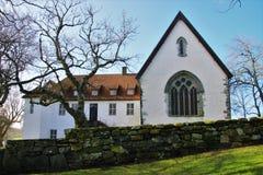 Utstein修道院 库存照片