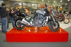 utställningmotorcykel Royaltyfri Foto