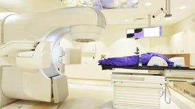 Utstrålningsterapi för cancer panna arkivfilmer