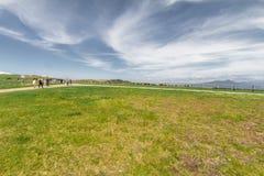 Utsukushigahara公园美好的风景视图是一个Th 免版税图库摄影