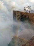 Uttaget av den Merowe vattenkraftstationen Arkivfoton