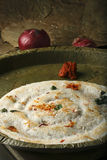 Uttapam is a dosa-like pancake from India Royalty Free Stock Image