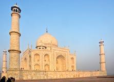 uttar阿格拉印度mahal pradesh日出的taj 库存图片