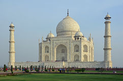 uttar阿格拉印度mahal pradesh的taj 免版税图库摄影