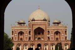 72 uttar 1565年结构d德里humayun印度mughal pradesh s的坟茔 免版税库存照片