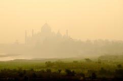 uttar agra india mahal pradeshtaj Arkivfoton