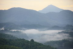 Uttaradit moutain. Kho plueng prae uttaradit thailand Royalty Free Stock Image
