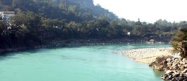Uttarakhand di Rishikesh immagini stock