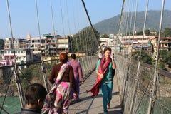 Uttarakhand di Rishikesh fotografia stock
