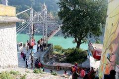 Uttarakhand di Rishikesh immagine stock libera da diritti