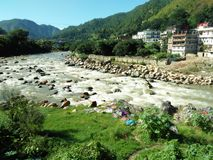Uttarakhand Gomti Rever стоковые фото
