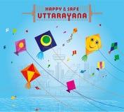 Uttarayan à Ahmedabad Illustration Libre de Droits