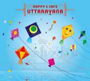 Uttarayan at Ahmedabad Stock Photography