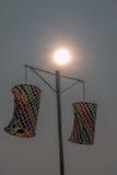 Uttarayan festival i Gujarat, Indien Arkivfoto