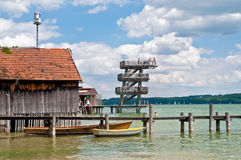 Utting Ammersee Photographie stock
