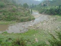 Uttrakhand-Fluss Lizenzfreies Stockfoto