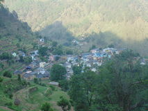 Uttrakhand village. Sukhai village in uttrakhand Stock Image