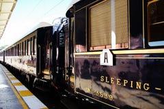 uttryck orient den sova vagnen Fotografering för Bildbyråer