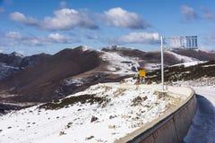 Uttrycka förälskelsesången på Kangding på det Zheduo berget Fotografering för Bildbyråer