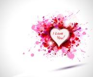uttrycka hjärta Arkivbild