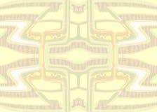 Uttrycksfullt futuristiskt utrymme för abstrakt varm bakgrund Fotografering för Bildbyråer