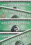 uttryckt amerikanskt företag Royaltyfria Bilder