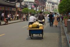 Utvändig gammal stad Shanghai Arkivfoton