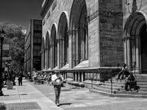 Utvändiga Yale Art Gallery June 2013 Fotografering för Bildbyråer