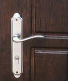 Utvändigt dörrhandtag Arkivfoto