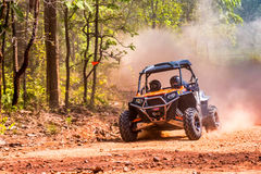 UTV on The Road. Stock Photography