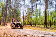 UTV on The Road. Royalty Free Stock Images