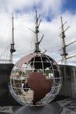 Utvandrareflamma och Dunbrodyen nya Ross fotografering för bildbyråer