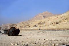 Utveckling av Egypten Royaltyfri Fotografi