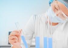 Utveckling av nya vacciner Royaltyfria Foton