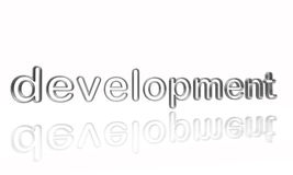 Utveckling försilvrar in binder Royaltyfri Foto