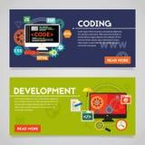 Utveckling och kodifiera begreppsbaner Royaltyfri Fotografi