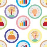 Utvecklingsbegreppsmodell Stock Illustrationer