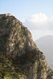 Utveggio城堡 免版税图库摄影
