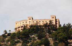 Utveggio城堡,巴勒莫 免版税库存图片