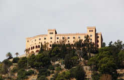 Utveggio castle, palermo Royalty Free Stock Image