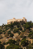 Utveggio slott, palermo Arkivbild