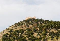 Utveggio slott, palermo Arkivbilder