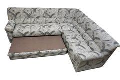 utvidgbar modern sofa för hörn Royaltyfria Foton