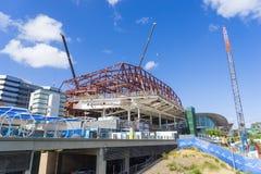 Utvidgning av Adelaide Convention Centre royaltyfria foton