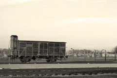 Utvisningvagn Royaltyfria Bilder