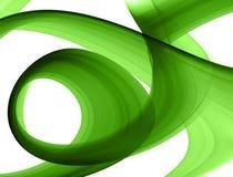 utworzenie abstrakcyjna green ilustracji
